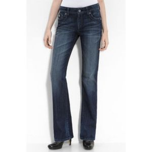 Kut from the Kloth Low Rise Boot Cut Jeans (4)
